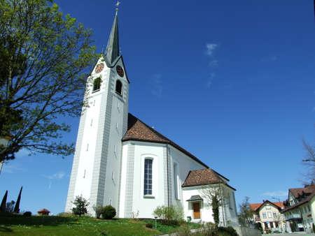 Church on the hill in St. Gallen, Switzerland