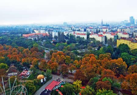 The Green Prater - A large public park in Vienna (Wien) - Vienna, Austria