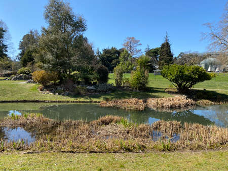 Conservatory and Botanical Garden of the City of Geneva (Conservatoire et Jardin Botaniques de la Ville de Genève) Konservatorium und Botanischer Garten Chambésy, Genf - Switzerland (Suisse)