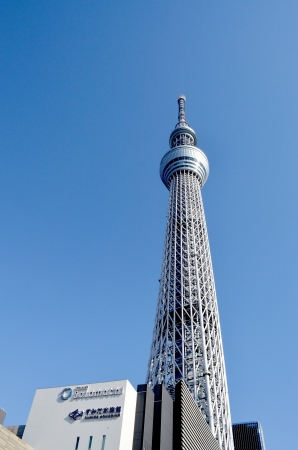 Tokyo Sky Tree and shopping center