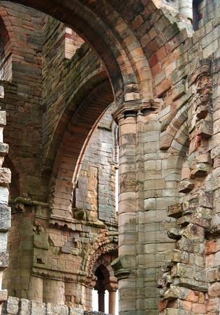 the abbey: Jedburgh Abbey
