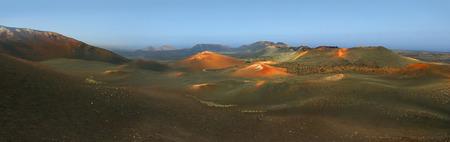timanfaya: Timanfaya National Park Stock Photo