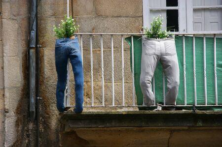 Pot jeans 版權商用圖片