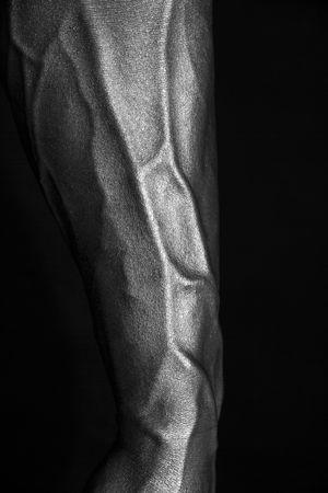 silver arm Фото со стока