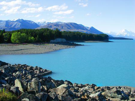 new zeland lake