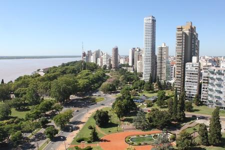 Rosaio City, Argentina - sunny day
