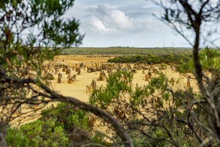 Pinnacle National Park in Western Australia