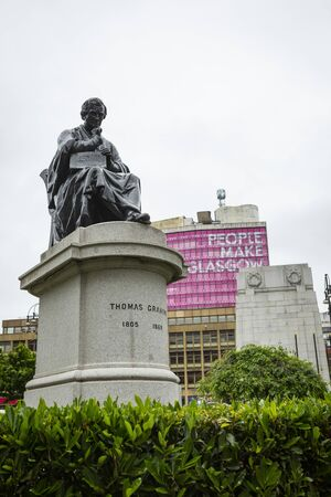 Glasgow,United Kingdom-June,16 2018:
