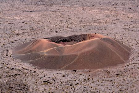 The Dolomieu crater, Piton de la Fournaise volcano, French Reunion island
