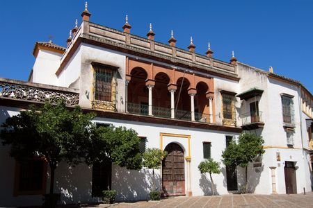 A typical old sevillan house, Andalusia, Spain