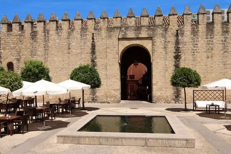 Cordoba fortification which surrounds the old city, Spain