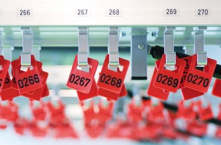 Garderobe Stock Photo