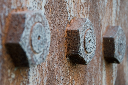 rusty bolts Standard-Bild - 24209187