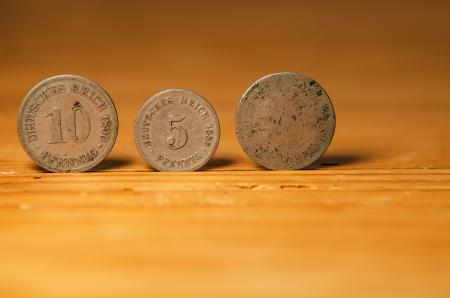 coins Standard-Bild