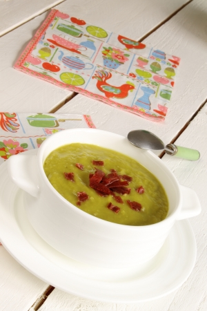 Vegetable thick soup