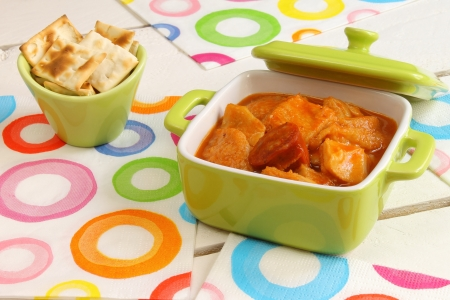 Tripe with croutons Stock Photo - 18962646