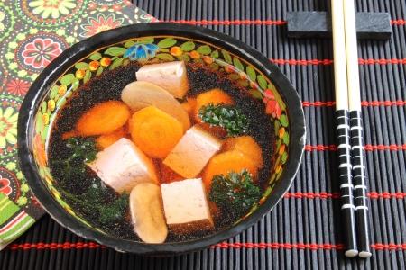 Miso soup Stockfoto