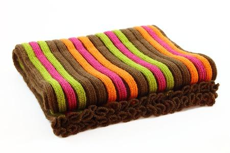 Isolated scarf Stockfoto