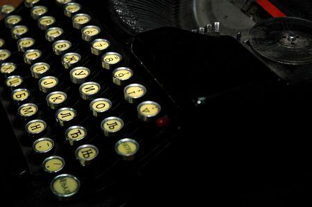 An onld typewriter Stock Photo - 398596