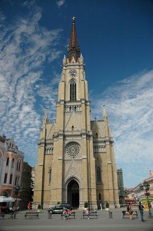 neogothic: Neogothic cathedral