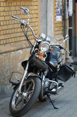lucky charm: Bike with a lucky charm