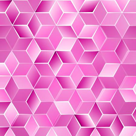 comb: Fresh modern spring-summer abstrakt y background with cubes . Vector illustration.