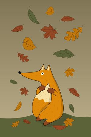 melancholic: Autumn fox