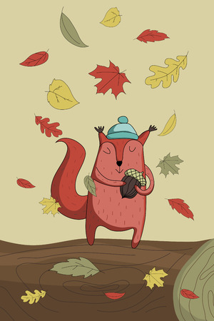 melancholic: Autumn squirrel