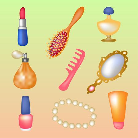jewerly: Beute objects set