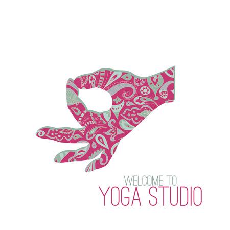 position d amour: Yoga mudra. Gyan Mudra (Sceau de la connaissance).