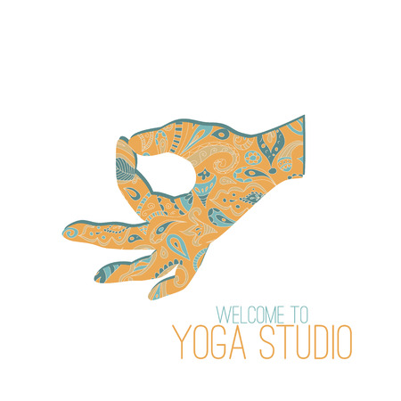 yoga class: Yoga mudra. Gyan Mudra (Seal of Knowledge).