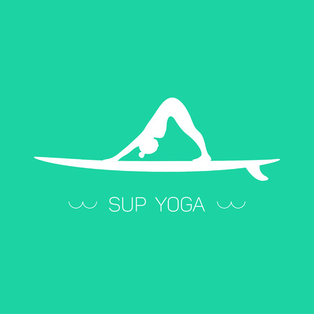 Logo for Stand up Paddle Yoga