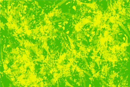 Green Color texture painting Brushed Abstract Background. Vibrant paint pattern backdrop. Chaotic brushstrokes painting. Images good use for background, wallpaper, invitation, art of box