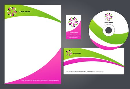 Corporate Identity Template   #1 - illustration  illustration