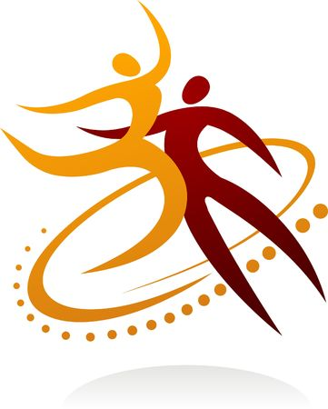 bailarin hombre: Pareja de baile moderno
