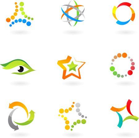 move arrow icon: colecci�n de iconos abstractas - 7. Para ver similares, por favor visite mi GALLERY