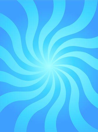 skyblue: Retro sky-blue wavy background Illustration