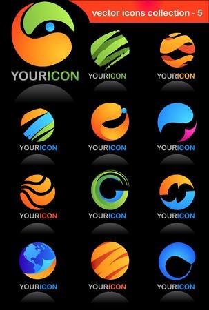 logo reciclaje: Colecci�n de iconos de negocio a nivel mundial