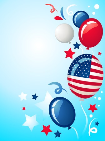 Independence  elections  day background  Vector