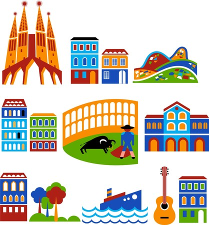monuments: Barcelona - landmarks and attractions