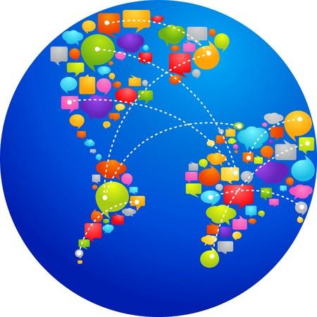 burbujas de pensamiento: Globo de burbujas de pensamiento  Vectores