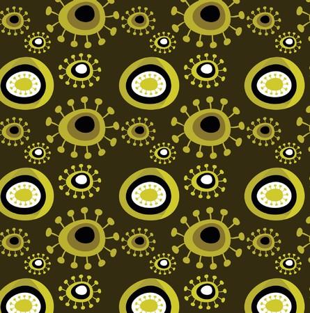 Grunge floral wallpaper pattern Stock Vector - 7824794