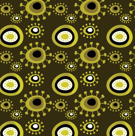 Grunge floral wallpaper pattern Stock Vector - 7824794