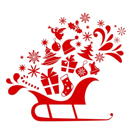 Christmas graphic elements collection Vector
