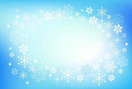 absract: Sfondo del fiocco di neve Absract Vettoriali