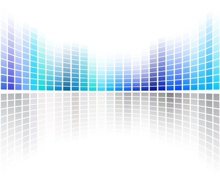 technological: Technological dotted background - 4 Stock Photo