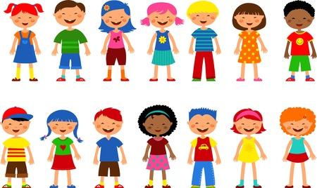 kids - set of cute illustrations