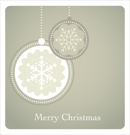 Christmas background with retro pattern Vector