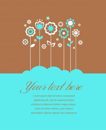 inbjudan: Gratulationskort, inbjudan, bröllop eller meddelande