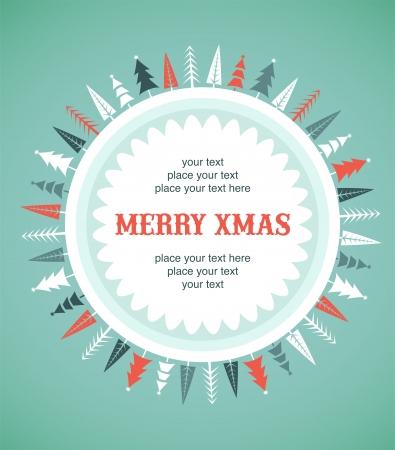 decoraciones de navidad: De fondo de Navidad con los hogares y las aves Foto de archivo